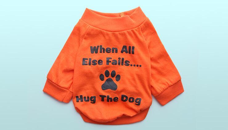 Fashion dogs cats spring summer vest clothes doggy t shirt apparel puppy shirts pet dog cat suit 1pcs XS S M L