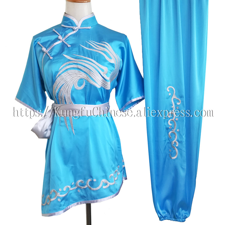 Wushu uniform Kungfu clothing Martial arts suit changquan clothes taolu costume for men girl boy children