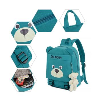 Small Bear Pendant Kindergarten Backpack Cute Child Backpack Kids Bookbag Рюкзак