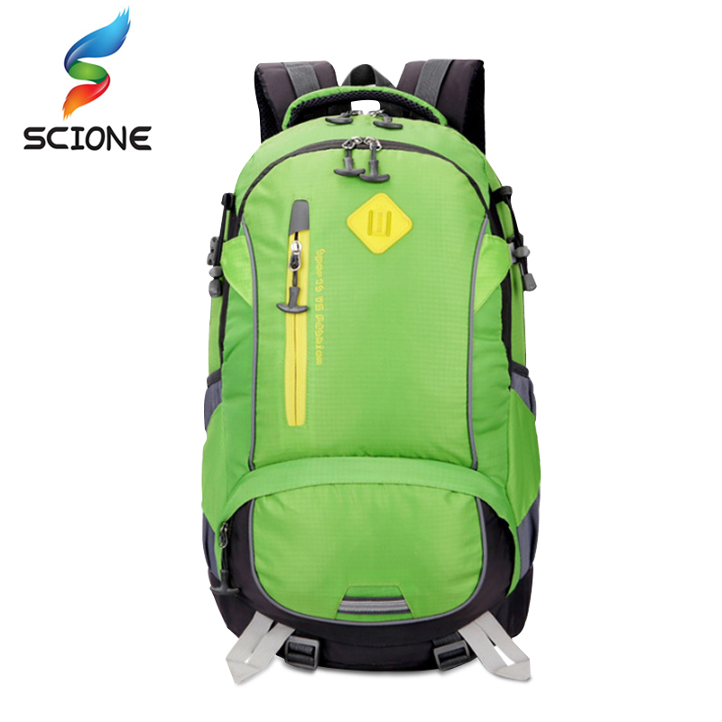 2018 Hot Waterproof Camping Hiking Backpack Sports Bag Outdoor Travel Rucksack Mountain Climb Equipment For Men Women Teenager rucksack 40l outdoor waterproof hiker backpack mountain climbing knapsack sports bag wayfarer hiking camping travel haversack