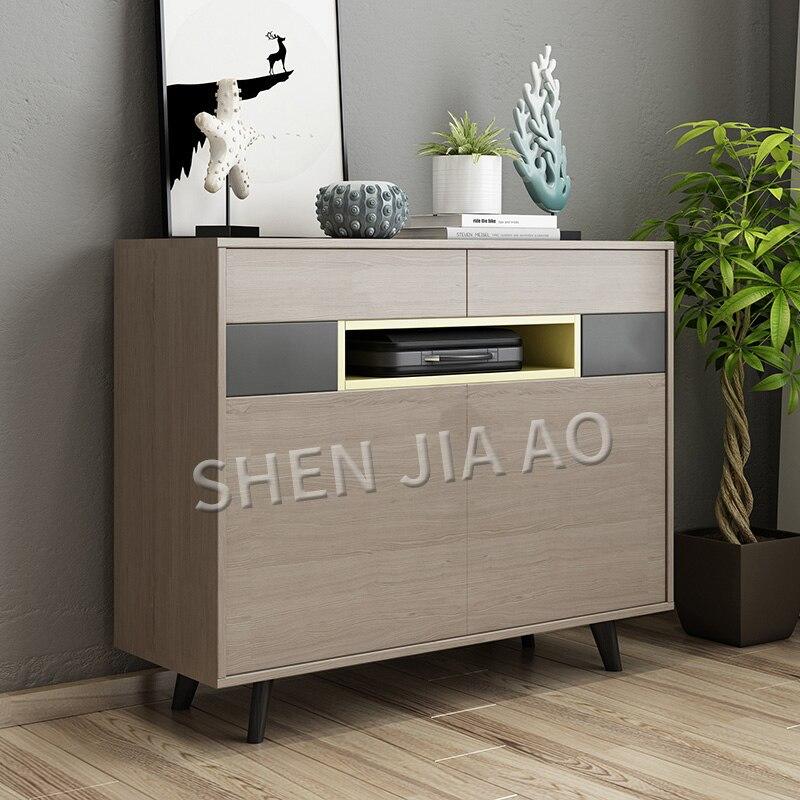 Simple Modern Shoe Cabinet Retractable