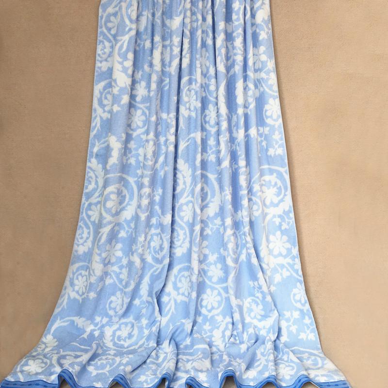 toalla de algodn edredn y una manta de flores patrn de la toalla de