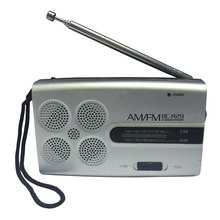 BC R29 Mini Pocket Portable Radio AM FM Radio Receiver Music Morning Exercise Player