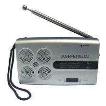 BC R29 Mini Tasche Tragbare Radio AM FM Radio Receiver Musik Morgen Übung Player