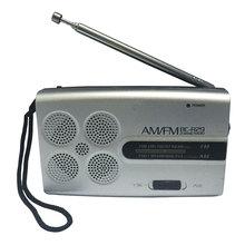 BC R29 Mini portátil de bolsillo Radio AM FM receptor de Radio música de mañana jugador de ejercicio
