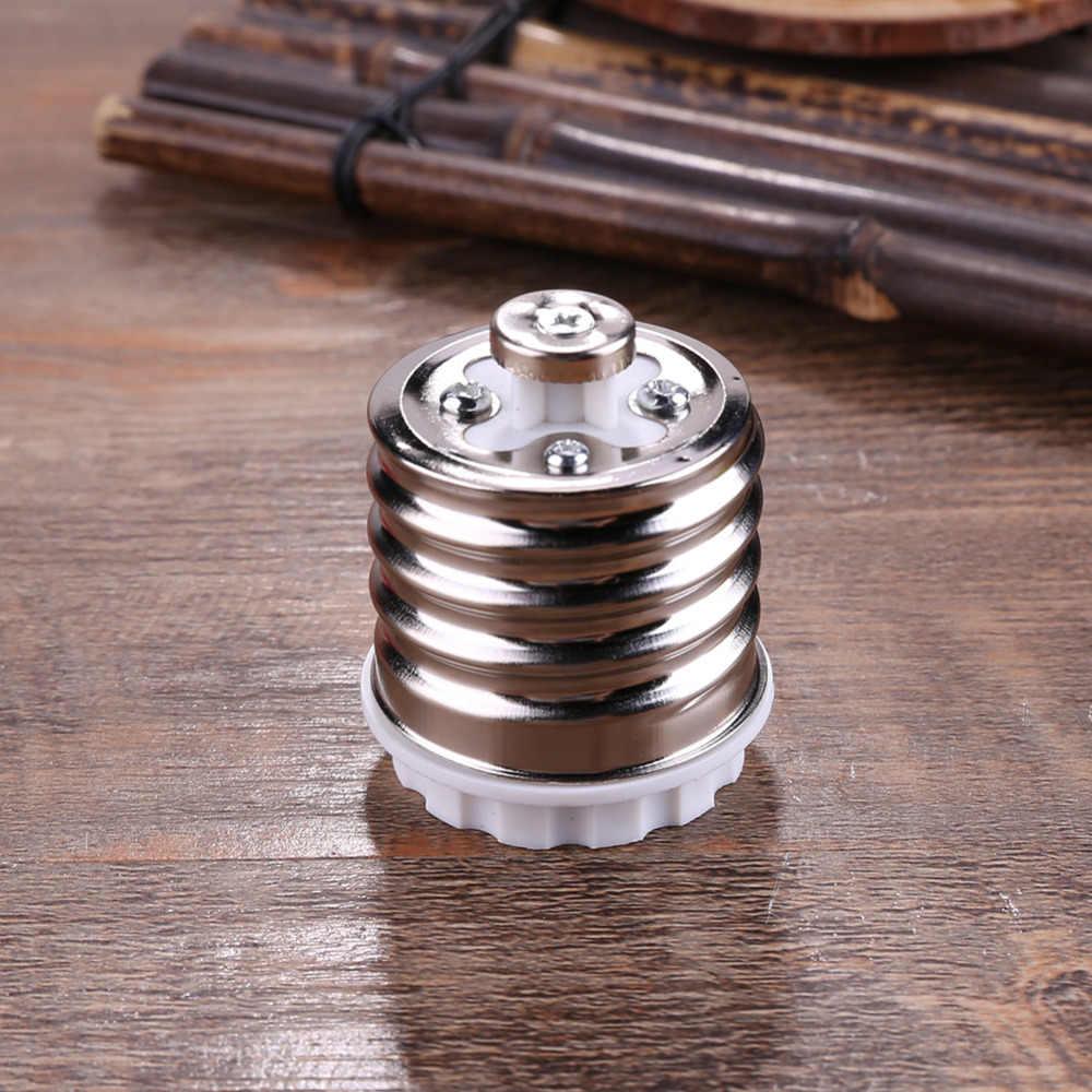 D1U# E40 to E27 Base LED Halogen Light Base Lamp Bulbs Socket Adapter Converter