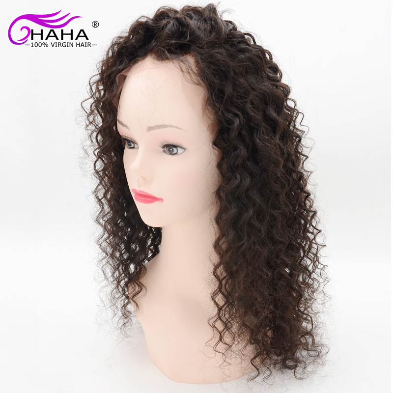 7a Cheap Wigs China Kinky Curly Full Lace Wig Brazilian