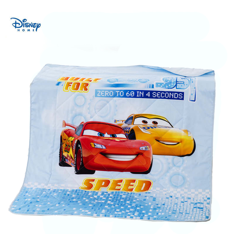 disney lighting mcqueen cars stitching blanket for boy teen beddings 3d cotton bed linens quilted bed spreads single size decor