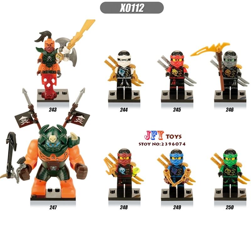 80pcs starwars superhero Ninja Fabulous Gnea Beauty Nada Khan building blocks bricks for games kids children toys iluminador