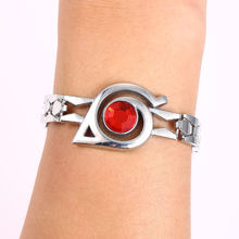Naruto Silver Alloy Bracelet