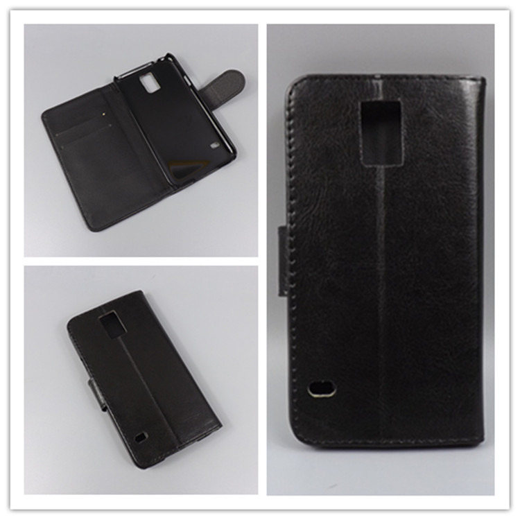 Crystal grain wallet case hold two Cards with 2 Card Holder and pouch slot For Samsung Galaxy S5 I9600 G900 G900F