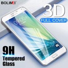 Protector de pantalla de cristal templado 3D para móvil, película protectora de pantalla completa para Samsung Galaxy J3 J5 J7 2016 C5 C7 C9