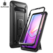 Voor Samsung Galaxy S10 5G Case (2019) supcase Ub Pro Full Body Robuuste Holster Kickstand Cover Zonder Ingebouwde Screen Protector