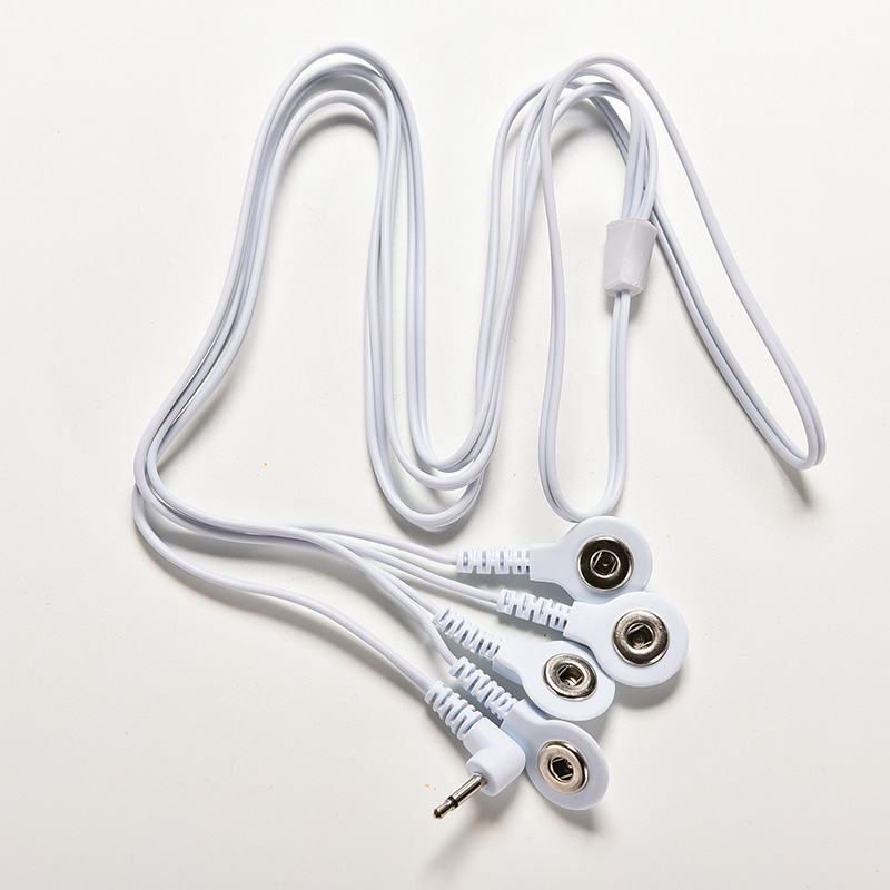JETTING Blei Drähte Anschluss Kabel für Digitale ZEHN Therapie Maschine Massager Draht Stecker 2,5mm 4 Tasten