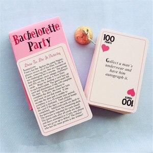 Image 4 - Bliss cartes pour fête de jeune fille, fête denterrement de vie de jeune fille, cartes pour oser léquipe de la mariée dêtre pour les filles, accessoire de soirée, boire, 13 pièces