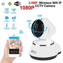 Apleye 1080 P 2.0MP Wi-Fi IP Камера ИК-ночного видения Беспроводной сети P2P мини-монитор cctv наблюдения Камера