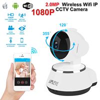 APLEYE 1080P 2 0MP Wifi IP Camera IR Cut Night Vision Wireless Network P2P Baby Monitor