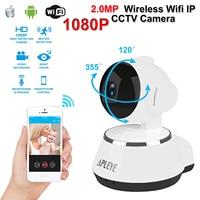 APLEYE 1080P 2 0MP Wifi IP Camera IR Cut Night Vision Wireless Network P2P Baby Monitor