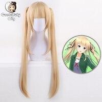 Eriri Spencer Sawamura Cosplay Wig Saekano: How to Raise a Boring Girlfriend Synthetic Hair 75CM 30 Inch Blonde Hairpiece