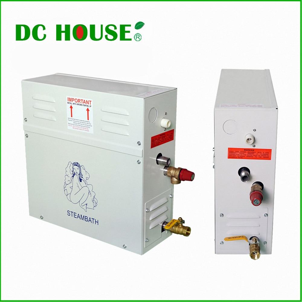 DC HOUSE New 9KW Steam Generator/Sauna Bath Home Spa Shower & Controller