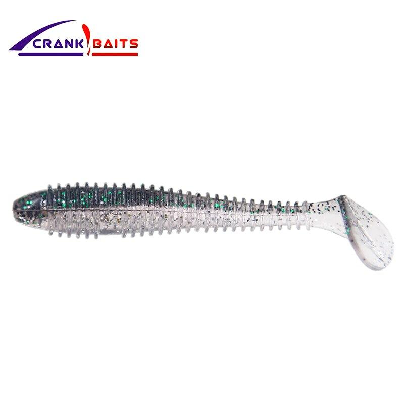CRANK BAITS Brand 2018 design 6color for choose fishing Entertainment sports lure depth 0-1.5m 70mm/2.8g hot sale softbait YB249 Sports & Entertainment