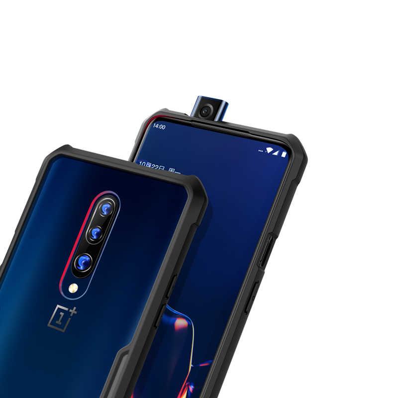 Pokrowiec na Oneplus 7T Pro xundd luksusowe 3D laserowe etui z TPU na odporny na wstrząsy telefon One Plus 7T etui z paskiem