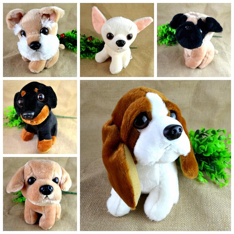 Stuffed Plush Animals Puppies Dogs Chihuahua Spaniel Shepherd Basset