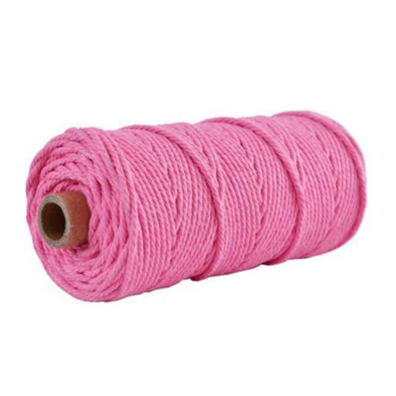100m 100% natural algodão corda padeiros corda