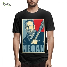 T Shirts Tags Negan The Walking Dead Shirt Look At My Dirty Girl Top Tees Vintage New Arrival Design Round Collar Camiseta