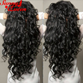 "Loose Wave Lace Front Wigs 8A Full Lace Human Hair Wigs For Black Women 150% Density Front Lace Wigs 8-24"" Malaysian Hair Wigs"