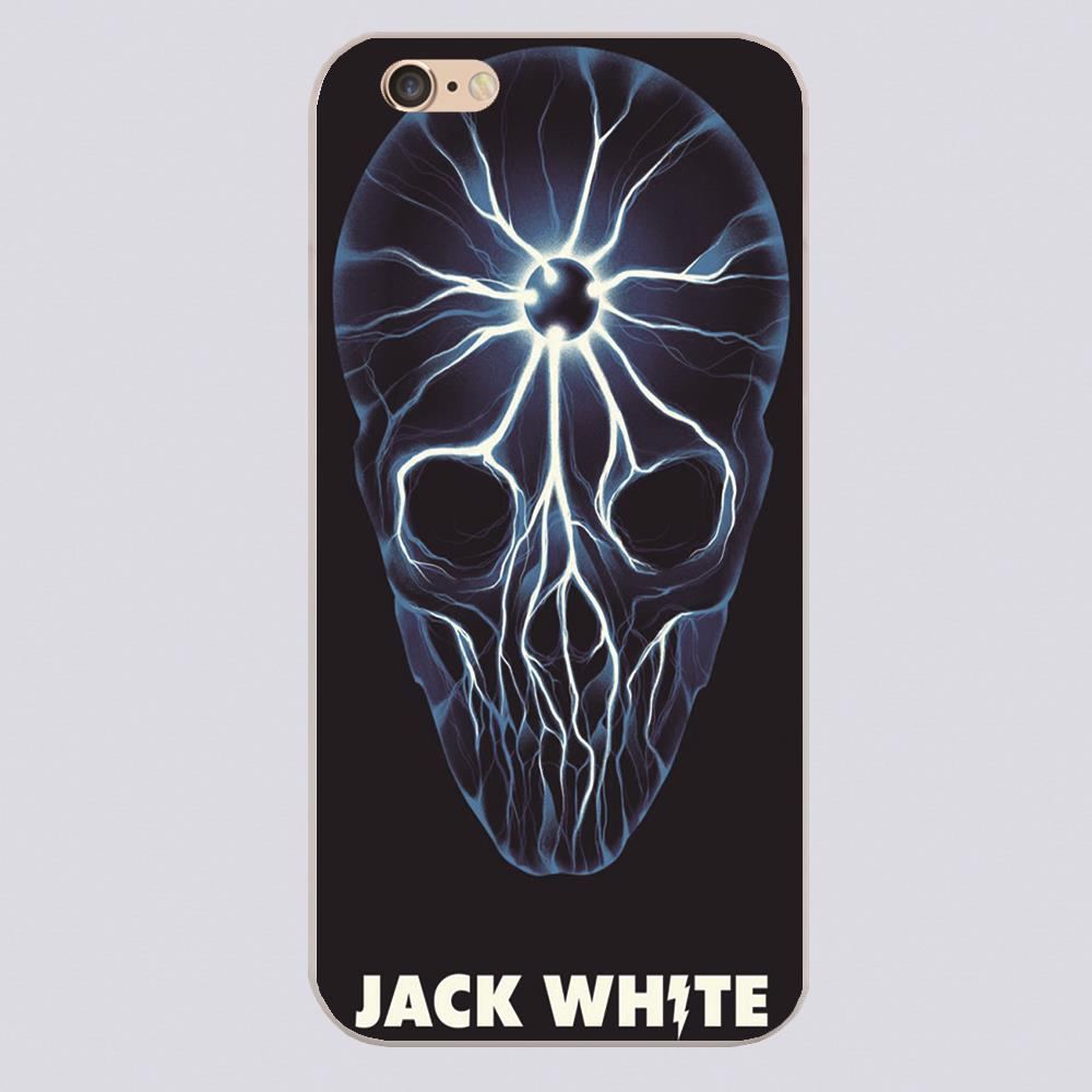 5s poster design - Jack White Poster Design Cover Case For Iphone 4 4s 5 5s 5c 6 6s Plus Samsung Galaxy S3 S4 Mini S5 S6 Note 2 3 4 Z2333