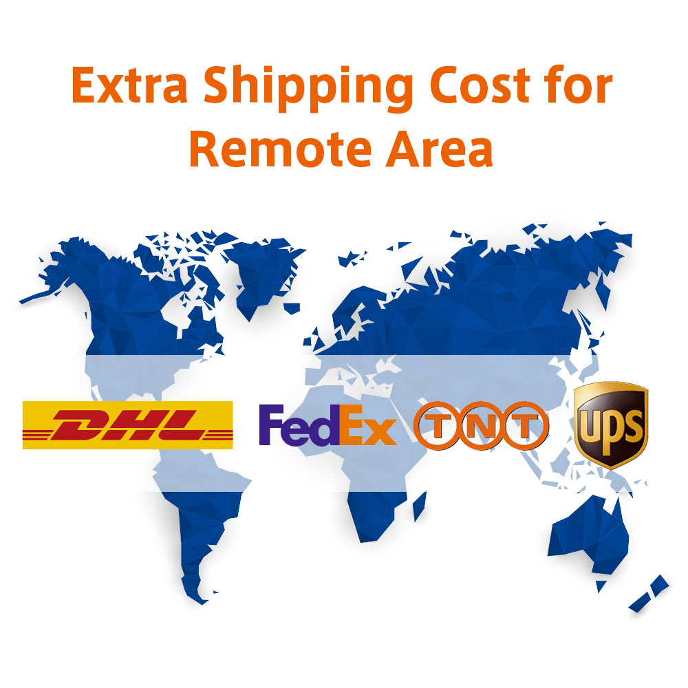 Remote Area Delivery Additional Shipping Cost for Express Companies Such As DHL Fedex TNT UPS стулья для салона thailand such as