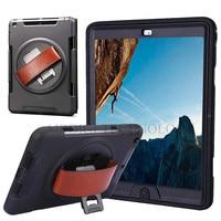 Voor Mini iPad Originele Armor Shockproof Zware Siliconen Hard Case Stand Smart Cover Voor iPad Mini 1 2 3 Retina