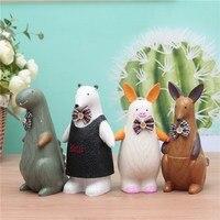 Animal Bank Piggy Bank Metal Coin Bank Money Box Figurines Saving Money Home Decoration Accessories Birthday Present Kids Toys
