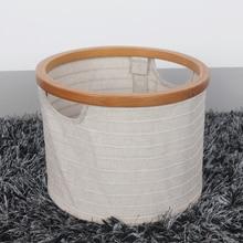 Cotton linen storage box wardrobe organizer almacenamiento y organizacion clothing drawer