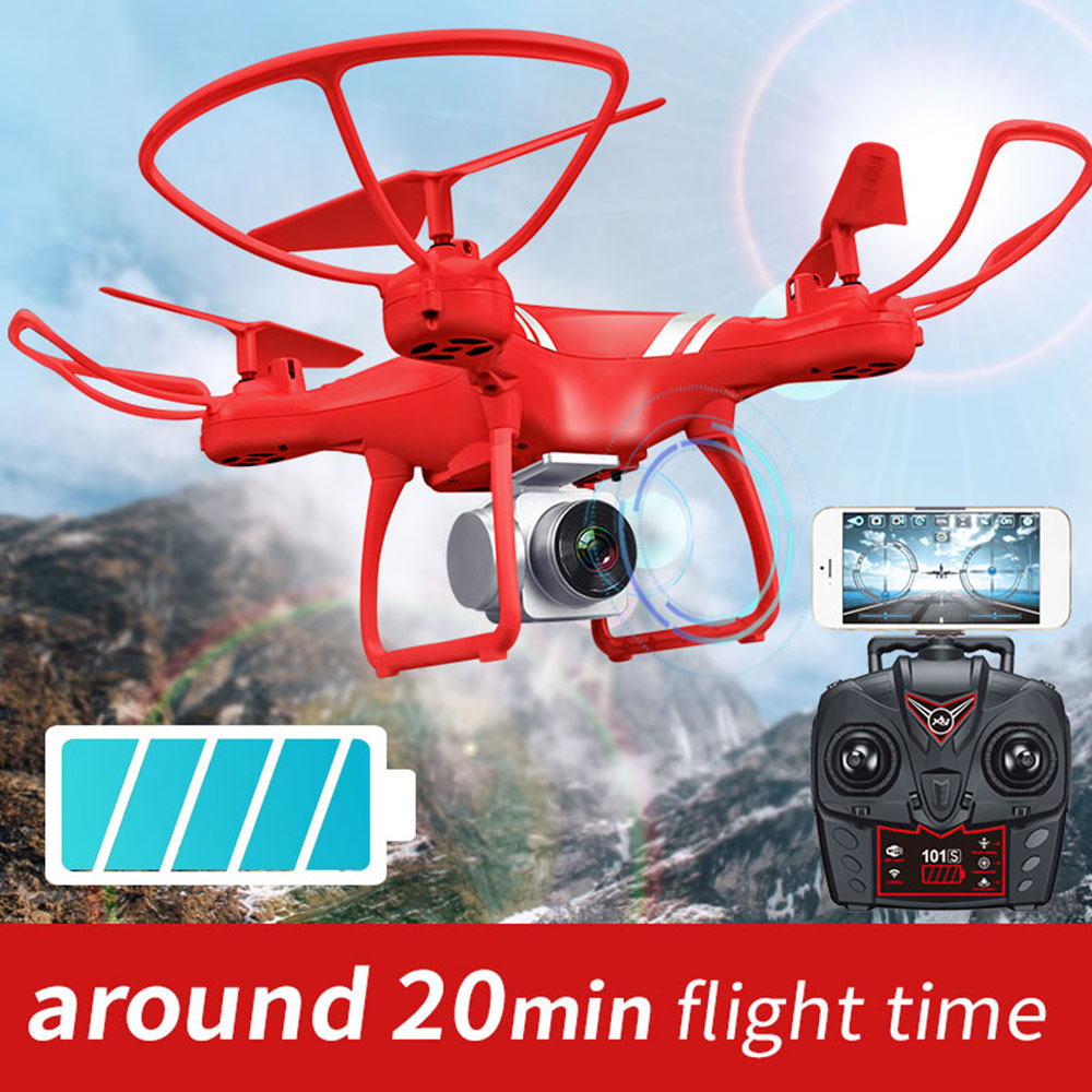 Drone with camera drone HD wide angle 200W Pixels wifi real time transmission The altitude hold 20 Minutes of long battery life