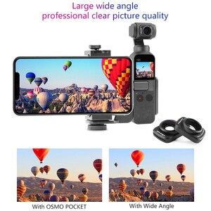 Image 5 - DJI אוסמו כיס רחב זווית עדשה מקצועי HD מגנטי מבנה עדשות עבור DJI אוסמו כיס מצלמה עם דיור מקרה