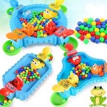 Забавные игрушки голодная лягушка, поедающая фасоль, семейные вечерние интерактивные игры для родителей и детей, игрушки для снятия стресса для взрослых
