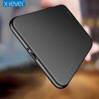 X Level For Sony Xperia XZ Premium Case Original Silicone Cases Luxury Soft TPU Case For