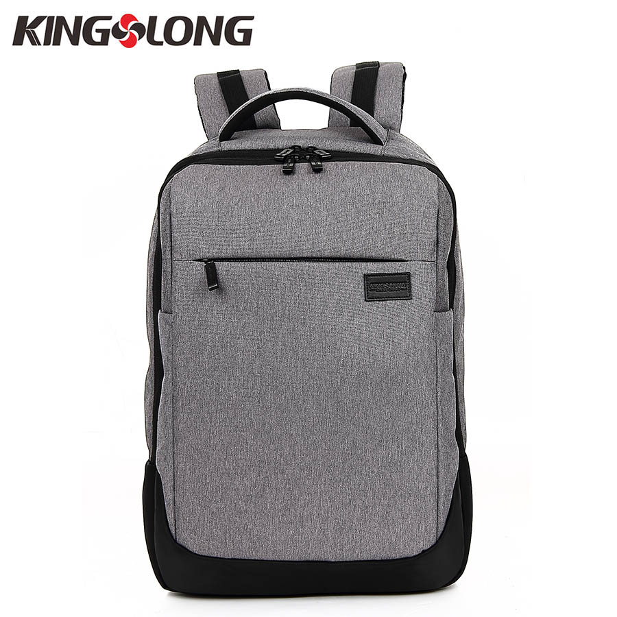 KINGSLONG New Arrival Men Laptop Backpack Design High Capacity Travel Backpack Fit for 15.6 Inches Computer Mochila Male Gray 2016 new arrival 21 inches 100