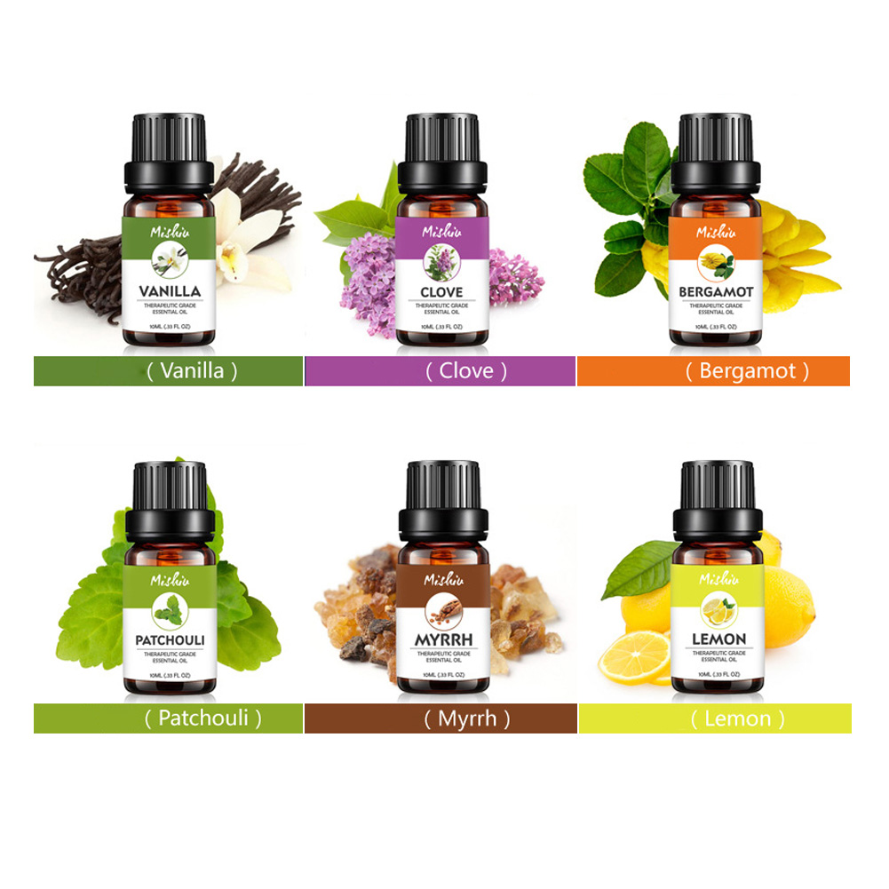 Help Sleep Fragrance Essential Oil Relieve Stress Plant Pure Universal Flower Fruit Aromatherapy Massage Skin Care Relaxation