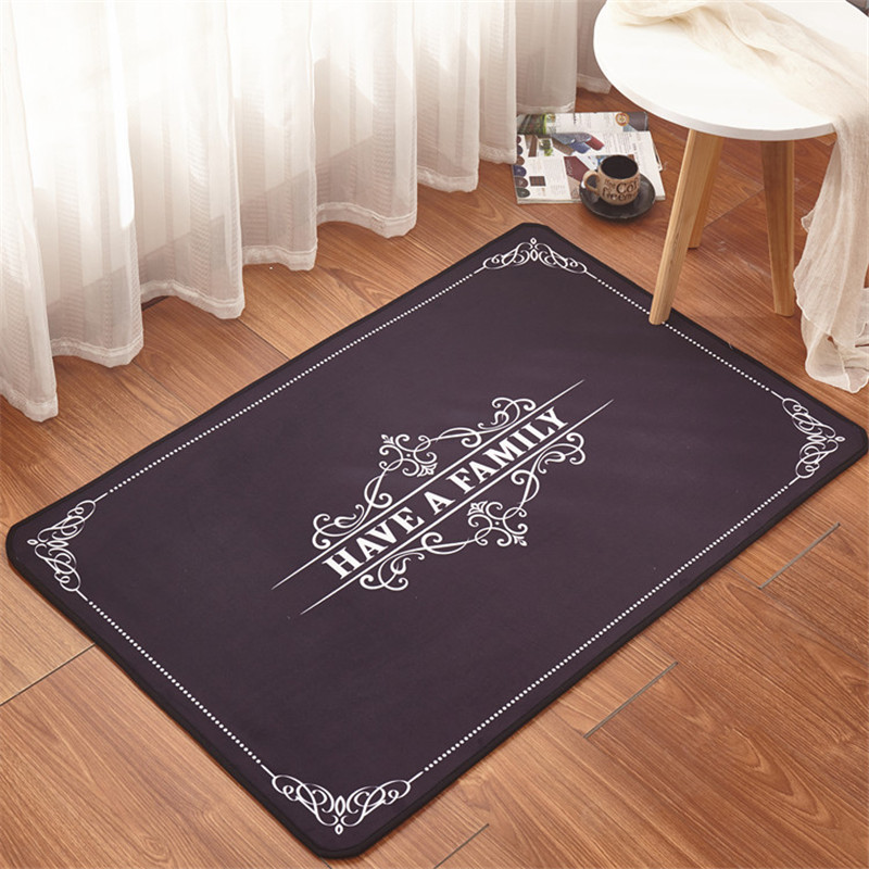 Nordic Style Carpet Water Absorption Mat High Quality 3 Sizes Carpet Bathroom Kitchen Rugs Toilet tapete banheiro antiderrapante