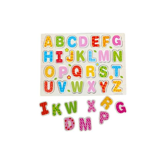 English Alphabet Puzzle for Children Educational