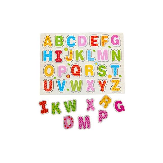 English Alphabet Puzzle for Children Educational
