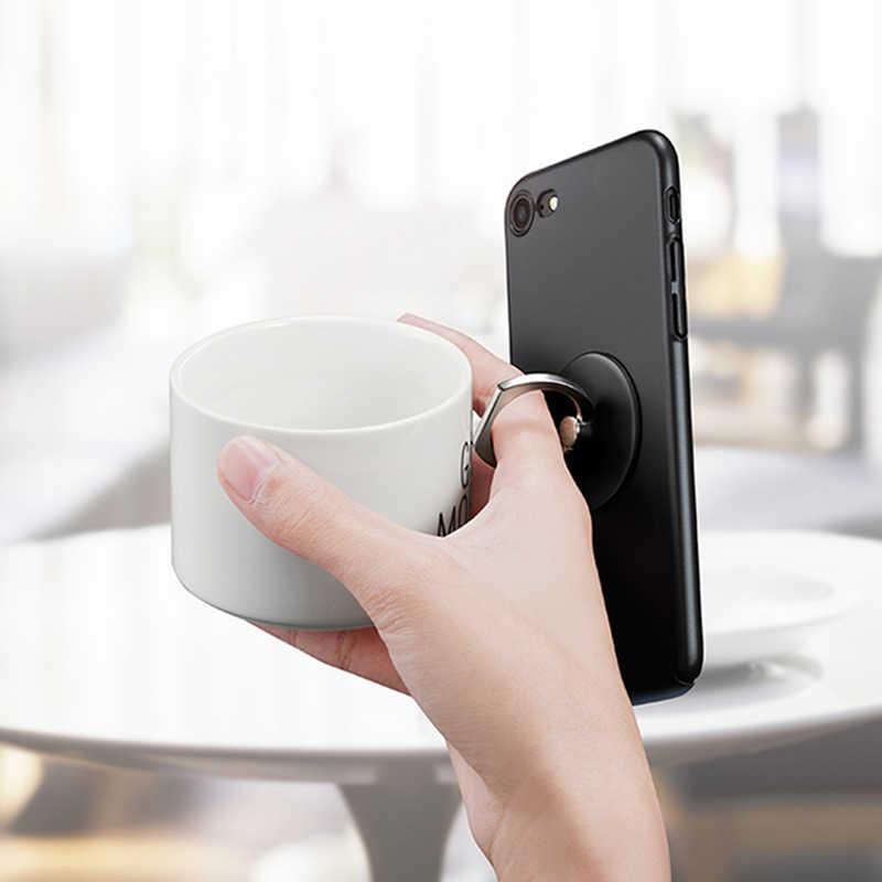 حلقة للهاتف المحمول حامل حامل حلقة حامل ل فون هواوي Xiaomi الهاتف المحمول حلقة حامل سيارة الهاتف المحمول الهاتف الذكي دعم
