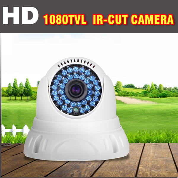 CCTV Camera 1000TVL IR-CUT Day/Night Indoor Dome Camera Video Surveillance CCTV Security Camera Dome for home security system free shipping sony ccd cctv camera 1200tvl ir cut filter security ir dome camera indoor home security night vision video camera