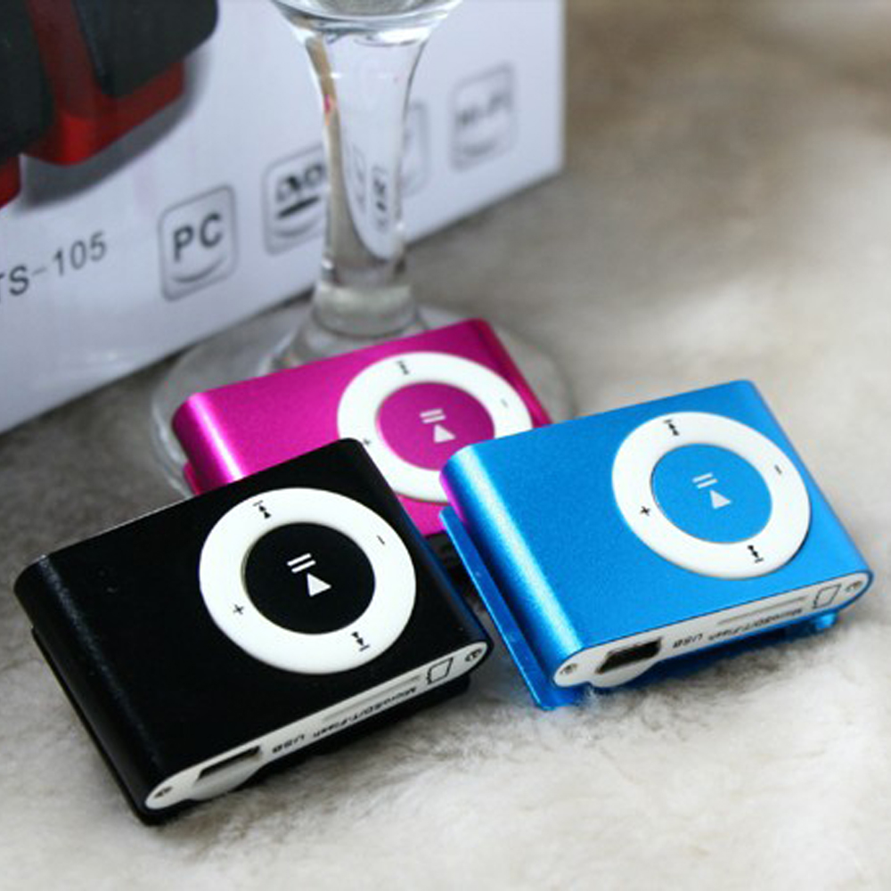 01159af74 Espejo portátil MP3 jugador Mini Clip MP3 jugador impermeable deportes  deporte MP3 reproductor de música Walkman Lettore MP3 nueva gran promoción