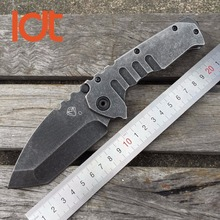 LDT Medford Praetorian TG01 Tactical Folding Blade Knife 8CR13MOV Blade Steel Handle Survival Camping Knives Outdoor OEM Tools