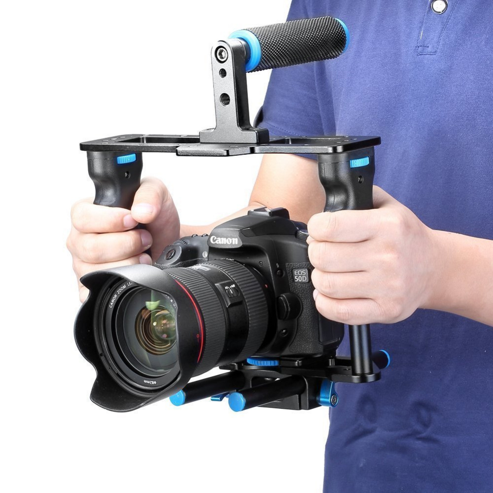Neewer Aluminium Camera Video Cage Film Movie Making Kit: Videokooi + - Camera en foto
