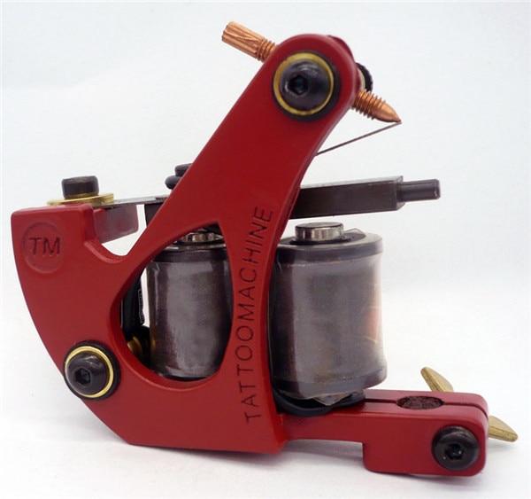 New arrive top steel tattoo gun supply professional colil for Professional tattoo guns